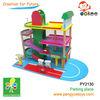 composite garage toy wood 3d carpark parking area