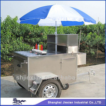 2014 Hot selling!!Potable JX-HS120D Snack sale Food van equipment