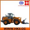 China wheel loader ZL50 with side dump bucket XJ958C