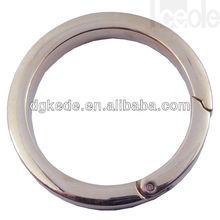 Fashion Stainless Steel Round Carabiner