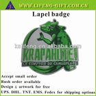 Custom made company logo embroidery label
