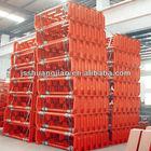 steel conveyor roller frame (bracket),painted conveyor roller support bracket ,drop bracket