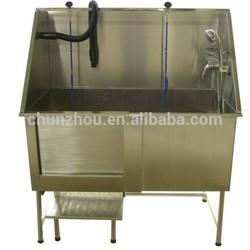durable stainless steel dog bath tub/H-104