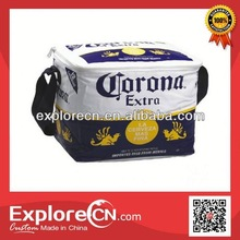 Corona full color printing pvc bottle pvc wine cooler bag