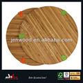 Venta caliente cocina junta, ronda de bambú tabla de cortar