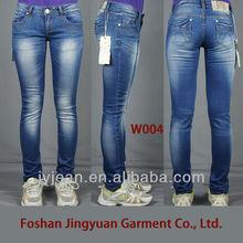 women jean pants Blue color 2013 new style