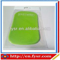silicone car pad for mobile phone PU car mat