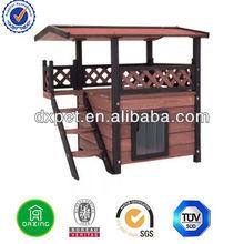 Wooden Cat House DXC001