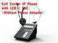 Specializzata call center telefono ip hd con qualità della voce e lcd. Voip sip telefono sip di sostegno poe wan/lan: router/interruttore