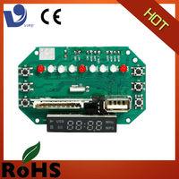 vire usb sd mp3 am fm radio pcb circuit board