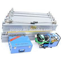 Portable conveyor belt vulcanizing equipment for conveyor belts