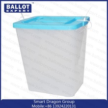 JYL-BB003 PP election transparent ballot box, container for voting