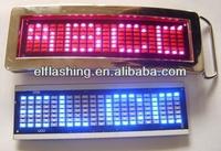 Led named badge /led buckle belts