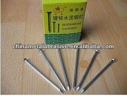 Concrete steel nail(electro galvanized)