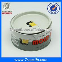 custom chemical round tin can for shoe polish