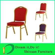Modern Iron Rental Hotel Wedding Throne Chairs