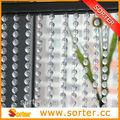 De moda de plástico colgando de la perla del grano para las cortinas de la ventana/puerta/garaje/cocina