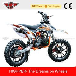 2013 New 2 Stroke 49cc Mini Dirt Bike for Kids