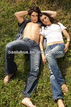 Hot sale style high quality men's cotton men jeans