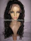 glueless wig/ virgin full lace wig for black women