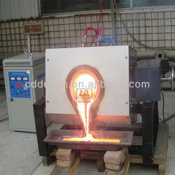 5l iron ore fine induction melting furnace
