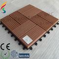 madeira polímero wpc decking piscina azulejo