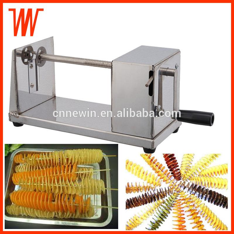 Stainless Steel Manual Twister Tornado Spiral Potato cutter