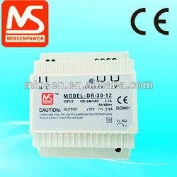 CE Standard din rail switch power supply 30w 45w 60w 75w 100w 120w 240w