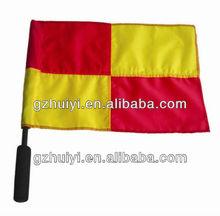 Sport Football Or Soccer Club Referee Flag