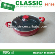Cooking fry pan with non stick coating