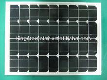 stock 40w small mono solar panel(KS40M-36)