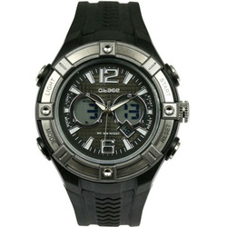 Fashion Analog-Digital Dual Time Waterproof Watch Sport