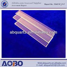 Good light transmission quartz glass disk/Optical quartz glass