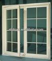 cernierein alluminio finestra con griglie di decorazione