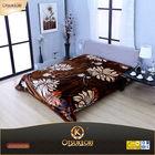 OTSU KEORI spanish style 100%polyester raschel blanket