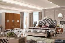 modern MDF panel high glossy bedroom furniture