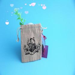 2015 Hot sale Fashion wholesale Mini Promotional Jute Bags