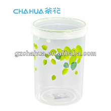 920ml NEW PLASTIC CYLINDRICAL FOOD AIRTIGHT CONTAINER