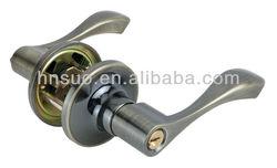high security double opening handle leverset combo door lock