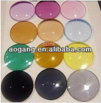 CR39 tinted optical lens color resin lens 1.49 1.56 1.61 1.67