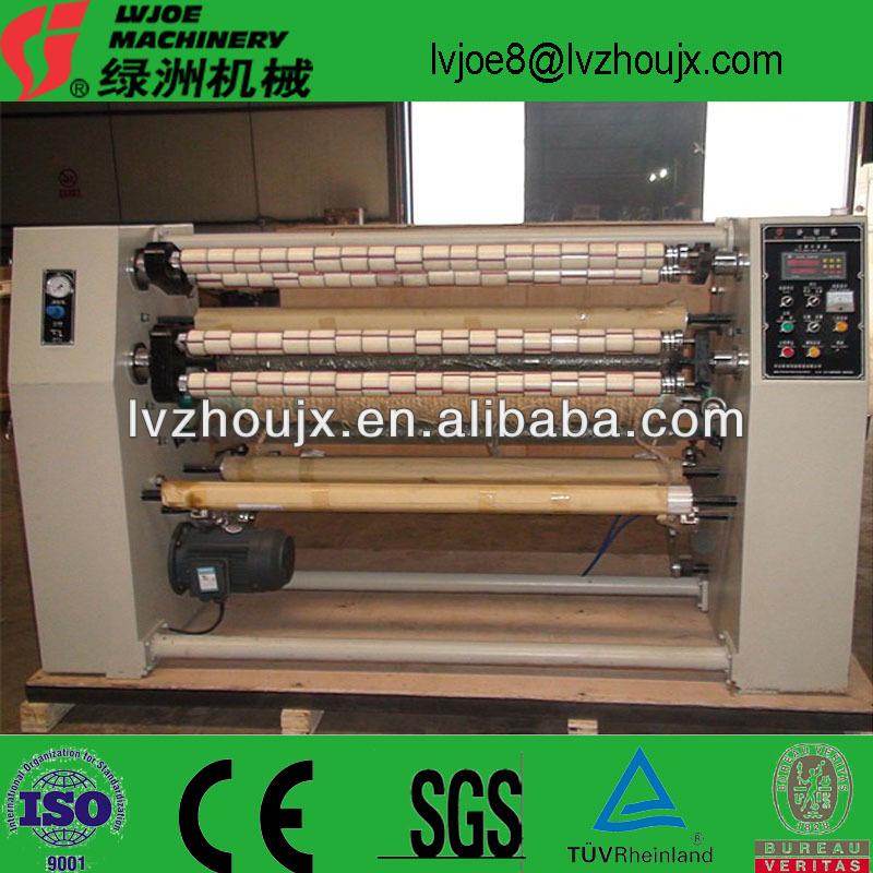 bopp adhesive tape slitting machine for carton sealing,log roll slitter rewinder
