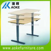 high adjustable structure metal adjustable base table