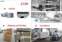C120 -5 grado centigrado unidad de refrigeracion de camiones