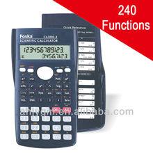 10+2 Digit 2-Line Display 240 Function Scientific Calculator