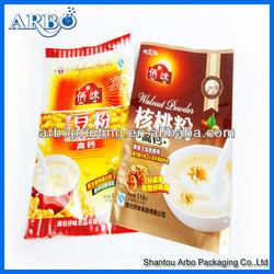Printed aluminum foil food packaging bag Laminated bag for food