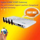 GoIP 4, 4 sims gsm voip gateway, gateway gsm goip sip phone