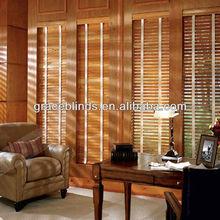 UV coating 50mm Basswood Window Wood Blinds