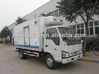 new 4x2 4tons refrigerator freezer cargo van