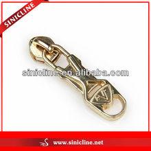 Metal Zipper Pull Bag Accessory, Zincy Zipper Pull