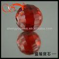 Encantadora vermelho redondo cubic zirconia bola contas gemas/pedras preciosas wuzhou de preços por atacado( czrd- 3- 1030)